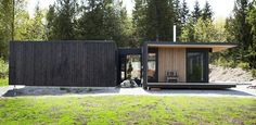 An outbuilding with an outdoor shower!