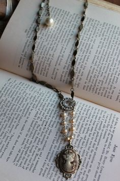 Vintage Treasure necklace by HaveFaithDesigns on Etsy