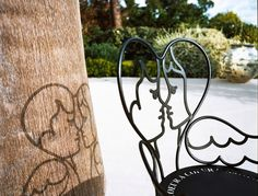 """Chaise design """"Chérubins"""" par Jean-Charles de Castelbajac decodesign / Décoration"""