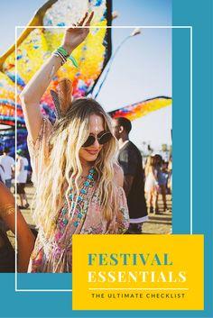 Music Festival Essentials to Pack