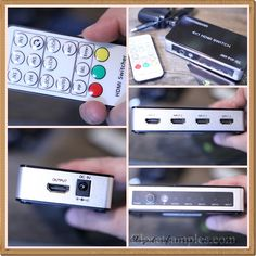 Tomsenn 4K x 2K 4 Port High Speed HDMI Switch #Review | Get FREE Samples by Mail | Free Stuff