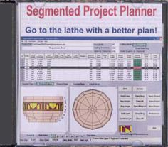 The most comprehensive segmented turning design tool available.