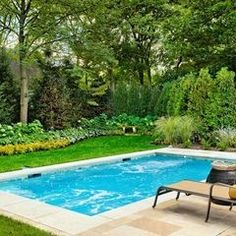 Small pool for small yard