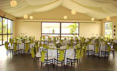 manteleria verde para matrimonios 2 by Eventos Integrados, via Flickr