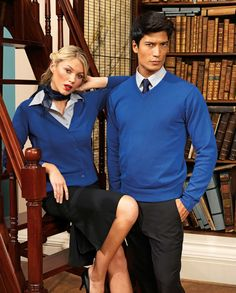 https://www.premierworkwear.com #Knitwear #Cardigan #Knittedsweater #Library #Workwear #Business #Corporate #Officestyle