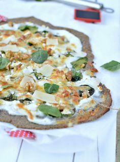 Linseed, Sunflower & Almond Flour Pizza Crust