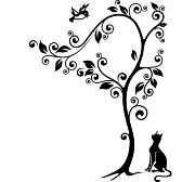 Cat Silhouette Stock Photos Images, Royalty Free Cat Silhouette Images And Pictures