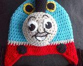 Crochet Choo Choo Hat Pattern Inspired by the character Thomas the Train. $5.99, via Etsy.