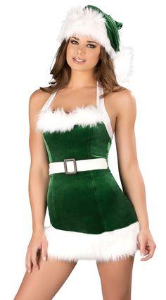 1PC Plush Deluxe Green Elf Hat Christmas Fairy Tale Fancy Dress Xmas Accessory