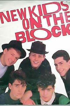 New kids on the block! They were the best