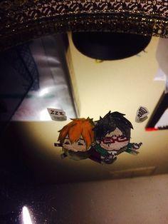Nagisa and Rei (Free!)- fan art by me