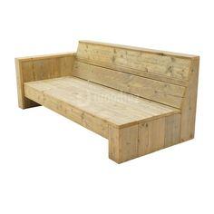 Steigerhouten meubels op maat gemaakt kopen   Woodiez Backyard Garden Design, Outdoor Furniture, Outdoor Decor, Bench, Relax, Storage, Camping, Bar, Home Decor