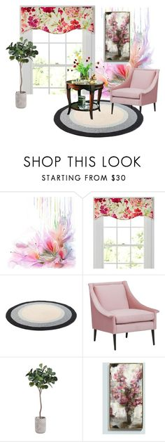Spring Melody by dialt-troffi on Polyvore featuring interior, interiors, interior design, дом, home decor, interior decorating, Country Curtains and Ballard Designs