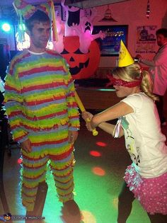 Halloween Couples Costume Ideas: Pinata and Birthday Girl