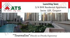 ATS Tourmaline new residential property in Gurgaon is a piece of art framed by one the most distinguished builder in the realty industry, ATS Group. The extravagant multi storey tower endows with the variants of 3 BHK and 4 BHK apartments with sizes ranging from 1750 sq ft to 3150 sq ft.