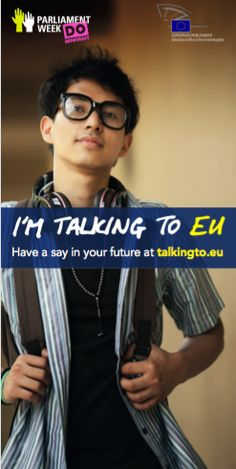 Talking to the EU: How to bring fresh voices into the European Parliament - The Democratic Society European Parliament, The Voice, Youth, Bring It On, Politics, Young Adults, Teenagers