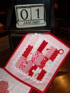 precious Valentine quilt