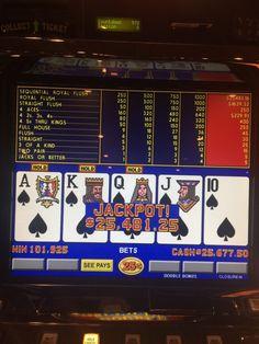 Wow! Check out this winning machine! #Winning @Cash #Casino #RailroadPass #Fun #weekend
