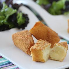 Tapas de queso empanado. El aperitivo perfecto. - Tapas, Pinchos y Aperitivos - Recetas - Charhadas.com