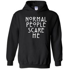 Artix American Horror Story Normal People Scare Me Unisex Hoodie... ( 16) 5ad518f9c