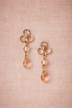 product | Sheer Droplets Earrings from BHLDN #mwbridalstyle #bhldnbride