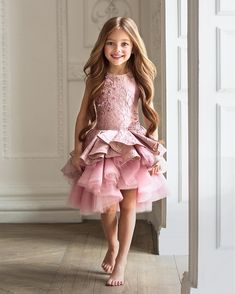 Dress by Mishka Aoki  #specialoccationdress #flowergirldress #mishkaaoki…