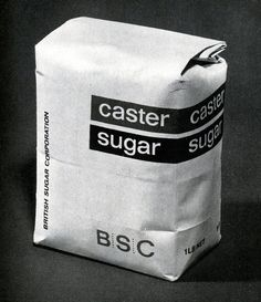Simple Perfection: Black and White Classic. British Sugar Corporation — Hans Schleger & Associates funny that this is perfection for someone in art. Sugar Packaging, Pretty Packaging, Brand Packaging, Product Packaging, Pochette Cd, Inspiration Wand, Graphic Design Branding, Grafik Design, Packaging Design Inspiration