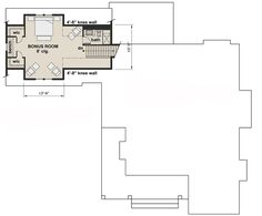 Modern 3-Bed Farmhouse with Vaulted Open Concept Interior - 14660RK | Architectural Designs - House Plans