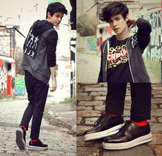 Dead Or In Serious Trouble (by Vini Uehara) http://lookbook.nu/look/4169486-Dead-Or-In-Serious-Trouble