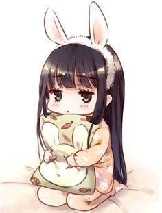 girl kawaii anime - Buscar con Google