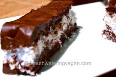 Bountiful Coconut Chocolate Bar  recipe from Mouthwatering Vegan     Easy and delicious!