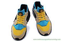 finest selection c6a6d 68f4d comprar tenis online Masculino 3188429-305 Amarelo   Azul   Preto Nike Air  Huarache