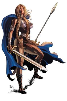 Valkyrie by Mike Deodato Jr. Colors by Rain.