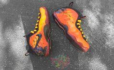 super popular b6685 d85ac Nike Air Foamposite Pro Maui Custom Popular Sneakers, Latest Sneakers, Air  Foamposite Pro,