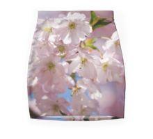 Spring Pink blossom branch Mini Skirt by #PLdesign #FlowerGift #spring #blossoms