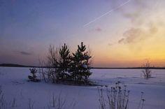 Winter evening   by I'm Olga on 500px