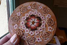 décoration d'une boîte métal by fimoterie de françoise, via Flickr