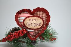 Hey, I found this really awesome Etsy listing at https://www.etsy.com/listing/248886952/heart-ornament-country-chic-rustic-heart