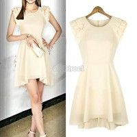 2014 New Fashion Women's Sexy Sleeveless Pleated Evening Cocktail Party Chiffon Dress Dress Link, Dress P, Chiffon Dress, Dresses For Work, Prom Dresses, New Fashion, Womens Fashion, Evening Cocktail, Western Outfits