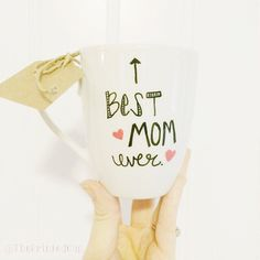 Mother's Day Fun Funny Best Mom Ever Coffee Mug by ThePrintedCup