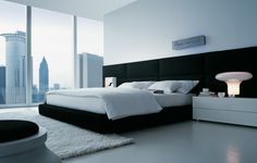 Inspiration image for Master headboard (from Poliform, Dream bed)