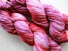 Felt Ball, Handmade Felt, Sock Yarn, Bane, Hand Dyed Yarn, Lilac, Balrog, Socks, Tolkien