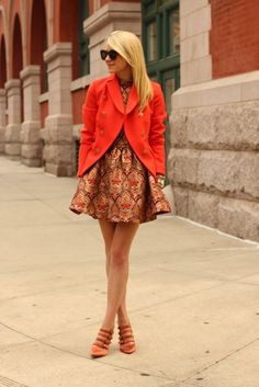 How to Wear Patterned Prints for Winter