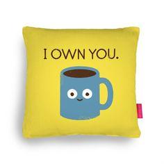 Fancy - Coffee Talk Cushion