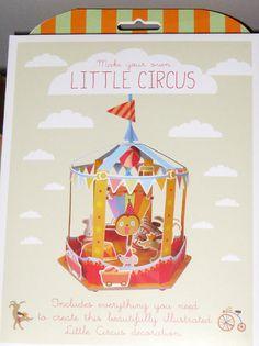 Kit en papel Little circus
