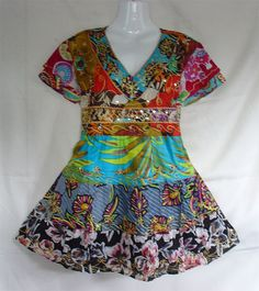 New Indian Nepal Gypsy Hippie Boho Retro Chic Patchwork Blouse Polo Top Shirt | eBay