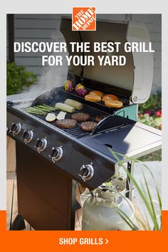 Select the best grill for your home with help from The Home Depot. Few things compare to the taste of freshly grilled food. However, grills come in many different forms, which can be daunting when you are looking for the perfect grill to complete your outdoor space. The Home Depot is here with a grill buying guide to help you find the best grill for your yard. Click to read more. Small Grill, Perfect Grill, Backyard Cookout, Grilled Food, Grill Time, Grill Accessories, Barbecue Grill, Smoking Meat, Charcoal Grill