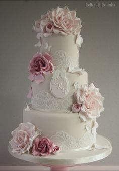 tartas fondant boda originales - Buscar con Google