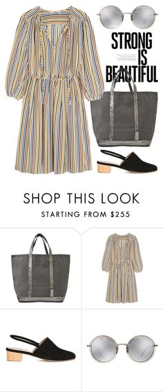 """""""Jul 6th (tfp) 1780"""" by boxthoughts ❤ liked on Polyvore featuring Vanessa Bruno, Anne Thomas, Linda Farrow and tfp"""