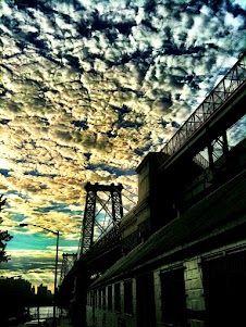 Williamsburg bridge -Coco Rocha